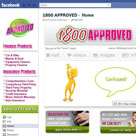 facebook page 1800 Approved