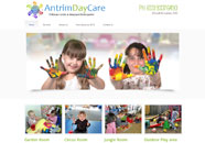 Antrim Child Care Small Business website