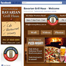 Bavarian Grill Haus facebook fan page