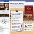facebook page cobb law