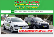 Direction Driving Small Business website