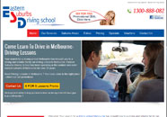 Eastern Driving School Small Business website