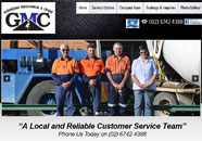 Gunnedah Crane Business website