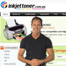 Ink Jet Toner web presenter