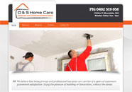 OS Homecare Small Business website