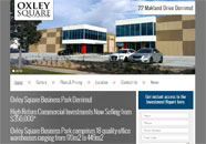 Oxley Square Business website