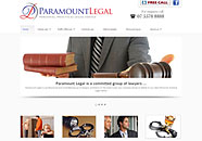 Paramaount Legal Small Business website
