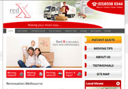 Redx Small Business website