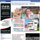 Think Advantage facebook fan page