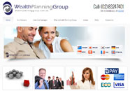 Wealth Planning Group Small Business website