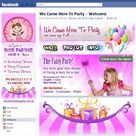 facebook page We Came Here to Party